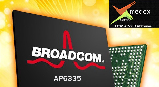 broadcom ap6335 dual band WiFi