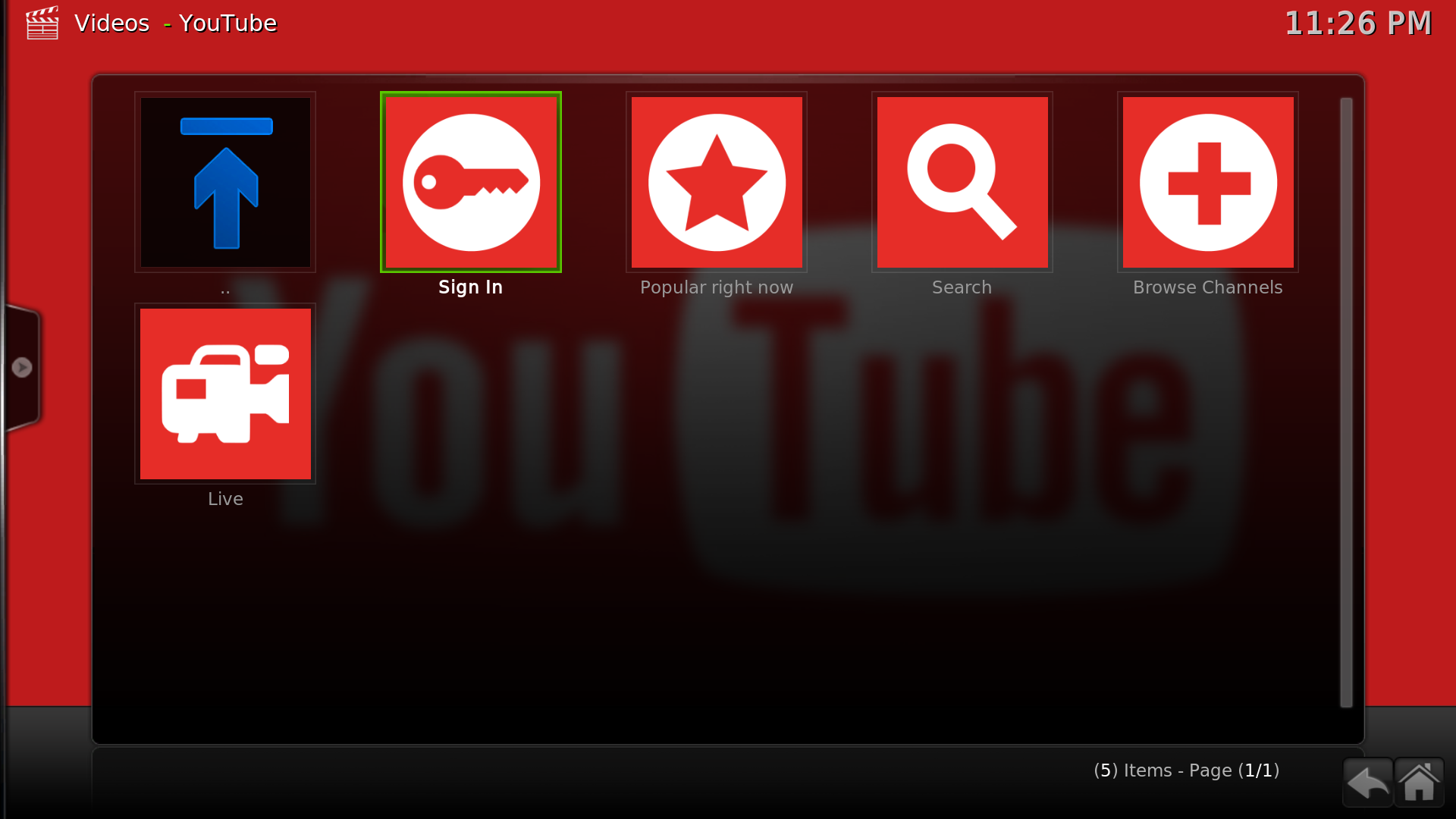 youtube android tv box