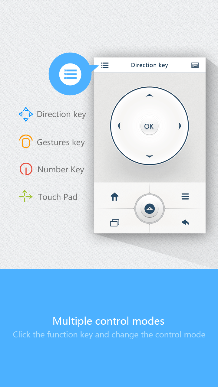 Xmedex Remote Control iOS App
