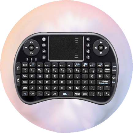 android deluxe keyboard trackpad