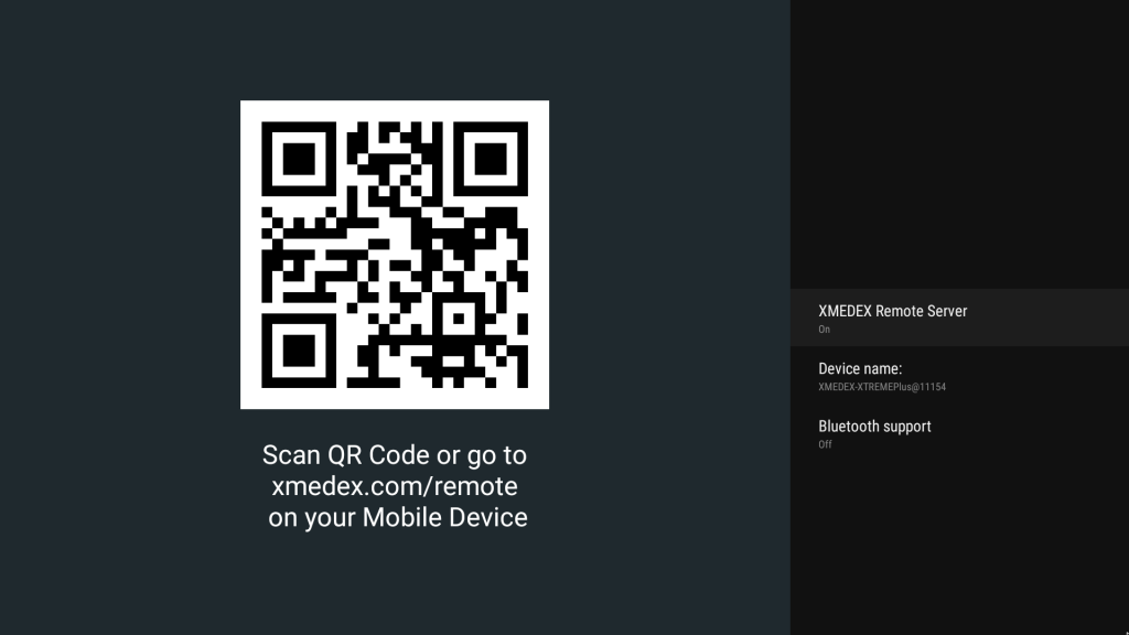 xmedex android remote control app rockchip