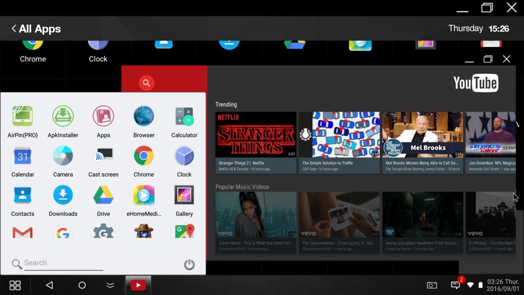 lightbiz os multi window mode android rockchip